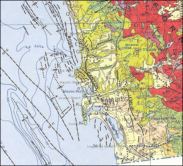 Earthguide Online Classroom Geologic Map California - California geologic map