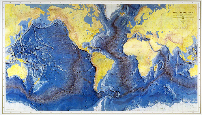 A famous ocean floor map georneys agu blogosphere the 1977 world ocean floor map created by bruce heezen and marie tharp image taken from here gumiabroncs Images