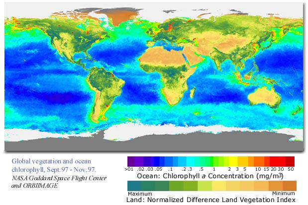 Calspace  Sio  Earthguide Ocean Color